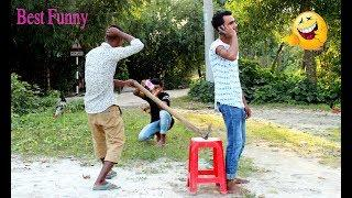 New Funny Video 2019 ll Village Comedy Videos ll Try Not To Laugh-Ep 39-Sujan Fun Media