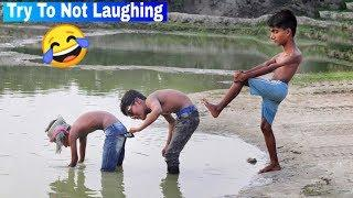 Must Watch New Funny???? ????Comedy Videos 2019 - Episode 57 | Non-stop Funny Video || Hiphop BDT ||