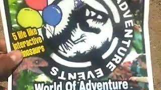 World Of Adventure events -  Kids ( Dinosaur Show ) Birthday party Entertainment