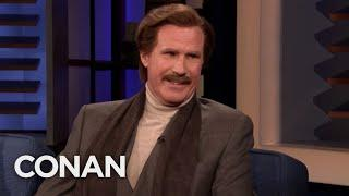 Ron Burgundy On His Burgeoning Comedy Career - CONAN on TBS