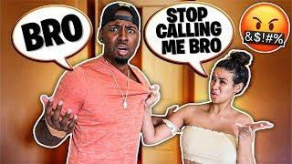 """CALLING My Girlfriend """"BRO"""" For 24 Hours PRANK *GONE WRONG*"""