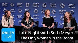 Late Night with Seth Meyers - The Only Woman in the Room