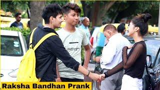 Happy Raksha Bandhan Prank With Funny TWISH Prank On Cute Girls Ft Vishal Goswami Baba | Prank Star