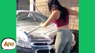 She Knows Soap is Slippery, Right? ???????? | Funniest Fails | AFV 2019