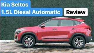 Kia Seltos 1.5L Diesel Automatic - Drive Review (Hindi + English)