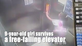 9-year-old girl survives a free-falling elevator from 19th floor