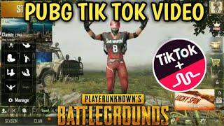 PUBG TIK TOK FUNNY MOMENTS AND FUNNY DANCE (PART 50) || BY PUBG TIK TOK