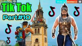 FREE FIRE BEST TIK TOK HOT VIDEO PART#10 - ALL VIDEO FUNNY MOMENT AND SONG FREE FIRE BATTLEGROUND.
