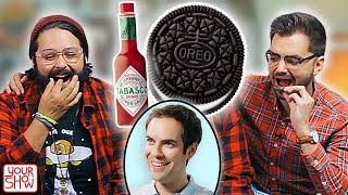 We Try WEIRD FOOD COMBO DARES (Ft. JACKSFILMS)   YOUR SHOW