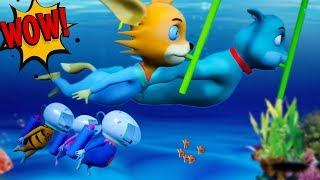 Lucy & The Mice 2019 | SEA TRAVEL | Episode 38  New Funny Cartoon For Kids 2019