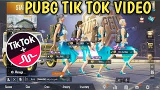 PUBG TIK TOK FUNNY MOMENTS AND FUNNY DANCE (PART 52) || BY PUBG TIK TOK