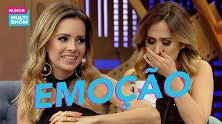 Sandy EMOCIONOU Tatá Werneck com surpresa no palco! ???? | ESQUENTA LADY NIGHT | Humor Multishow