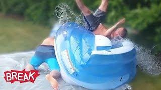 Man vs. Water! Funniest Fails | Break 2019