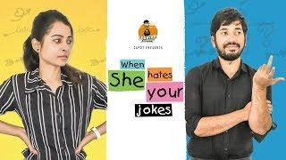 WHEN SHE HATES YOUR JOKES | GODAVARI EXPRESS | CAPDT
