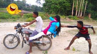 Top Ten most Watch Funny Video Clip Try To Not Lugh | Episode 44 | #MahaFunTv