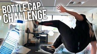 EXTREME BOTTLE CAP COMPILATION PRANK