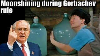LIFE IN USSR 119. Gorbachev's total war against drinking in the Soviet Union