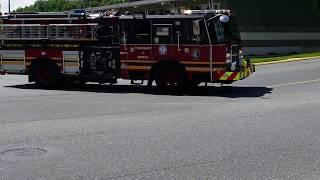 TSFRS Leaving Station for a Medical Call - Spring Township, PA