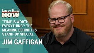 """Time Is Worth Everything"": Jim Gaffigan Explains Meaning Behind Stand-Up Special"