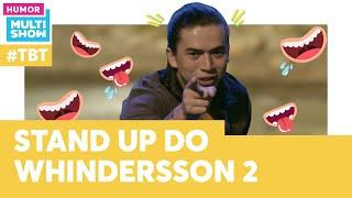 Whinderson Nunes no MELHOR STAND UP | #TBT Os Roni | Humor Multishow