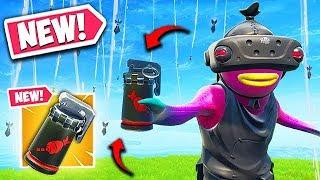 *NEW* AIR STRIKE ITEM IS INSANE! - Fortnite Funny Fails and WTF Moments! #613