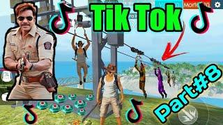 FREE FIRE BEST TIK TOK HOT VIDEO PART#8 - ALL VIDEO FUNNY MOMENT AND SONG FREE FIRE BATTLEGROUND.