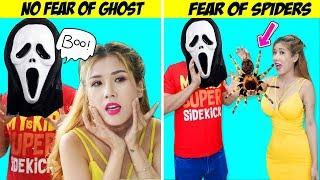 Girl DIY! SPOOKY SITUATIONS YOU CAN DEFINITELY RELATE TO | FUNNY TRICKS & FUNNY DIY JOKE ON FRIENDS