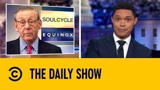 Calls Grow For Boycott of Trump-Supporting Fitness Brand | The Daily Show with Trevor Noah
