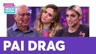 Pabllo Vittar TRANSFORMOU o pai da Tatá Werneck em DRAG? ???? | ESQUENTA LADY NIGHT