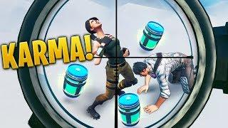 THE POWER Of KARMA!!! - Fortnite Funny WTF Fails and Daily Best Moments Ep.1224