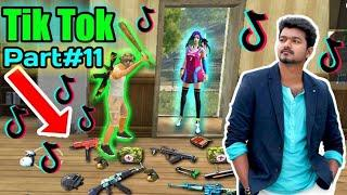 FREE FIRE BEST TIK TOK VIDEO PART#11 - ALL VIDEO FUNNY MOMENT AND SONG FREE FIRE BATTLEGROUND.
