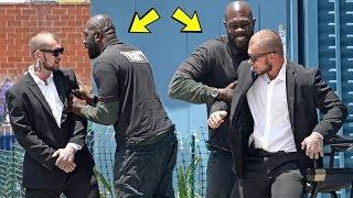 Fake Security Prank! (FIGHT BREAKS OUT!)