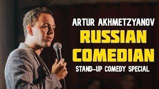 Artur Akhmetzyanov - Russian Comedian - Full stand-up comedy show 2019