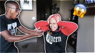 I SHAVED My Head Prank On Boyfriend!!