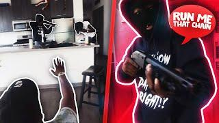 HOUSE ROBBERY PRANK ON FRIENDS BACKFIRES !!! * crazy reaction *
