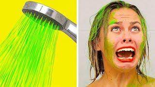 BEST FUNNY PRANKS ON FRIENDS || Family Funny Prank Wars by 123 GO!