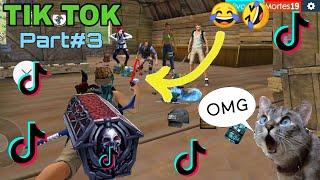 FREE FIRE BEST TIK TOK VIDEO#3 - FUNNY MOMENT AND SONG FREE FIRE BATTLEGROUND.