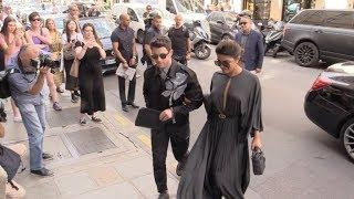 Pryanka Chopra almost fell while going to Dior show with Nick Jonas in Paris