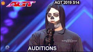 Death Stand-Up Comedian GETS X-BUZZED by ALL JUDGES | America's Got Talent 2019 Audition