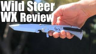 Wild Steer WX Knife Review.  It's French for Tactical Americans.