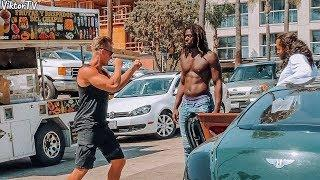 FIGHTING PEOPLE PRANK!
