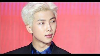 How RM from BTS reacted to a foreign reporter speaking Korean