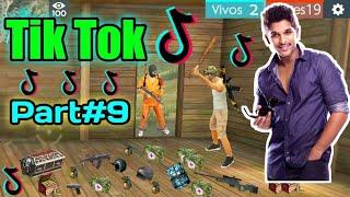 FREE FIRE BEST TIK TOK HOT VIDEO PART#9 - ALL VIDEO FUNNY MOMENT AND SONG FREE FIRE BATTLEGROUND.