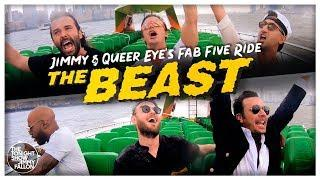 """Jimmy and Queer Eye's Fab Five Ride """"The BEAST"""""""